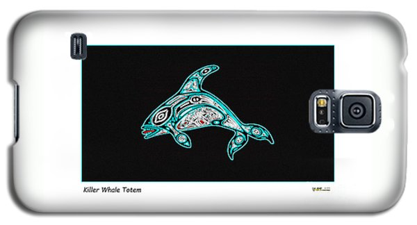 Killer Whale Totem Galaxy S5 Case