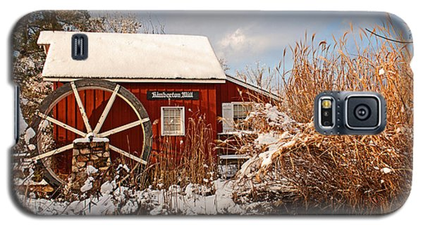 Kimberton Mill After Snow Galaxy S5 Case