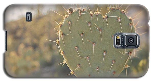 Kinda Heart Cactus Galaxy S5 Case
