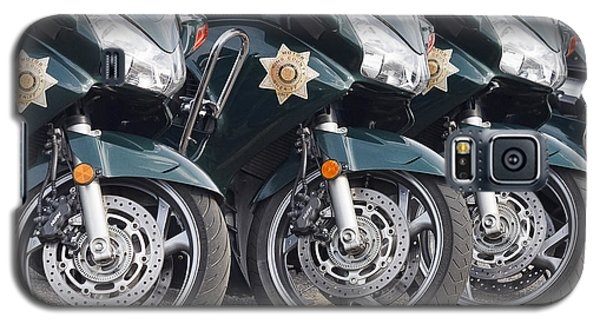 King County Police Motorcycle Galaxy S5 Case