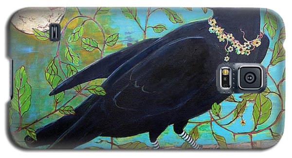 Blackbird Galaxy S5 Case - King Crow by Blenda Studio