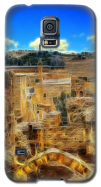 Peaceful Israel Galaxy S5 Case