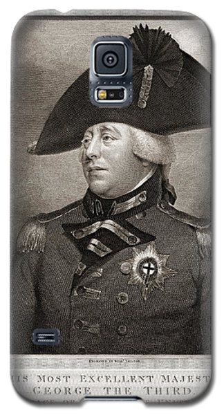 King George IIi 1810 Galaxy S5 Case