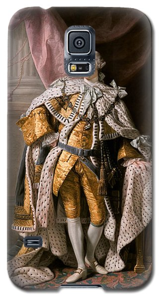 King George IIi In Coronation Robes Galaxy S5 Case
