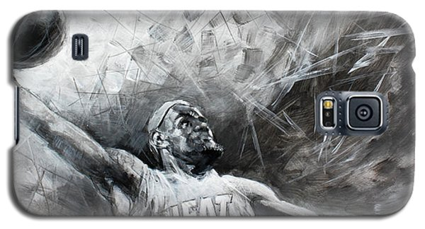 King James Lebron Galaxy S5 Case