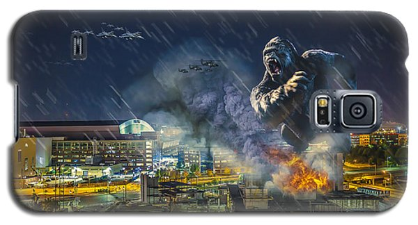 Galaxy S5 Case featuring the photograph King Kong By Ford Field by Nicholas  Grunas