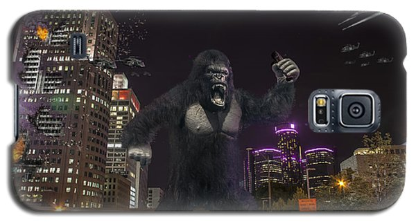 Galaxy S5 Case featuring the photograph King Kong On Jefferson St In Detroit by Nicholas  Grunas