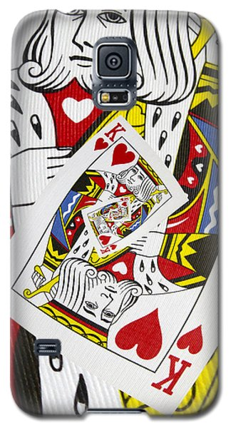 King Of Hearts Collage Galaxy S5 Case