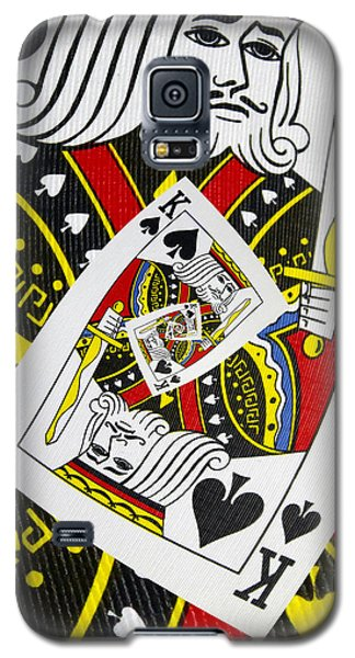 King Of Spades Collage Galaxy S5 Case