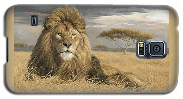 Lion Galaxy S5 Case - King Of The Pride by Lucie Bilodeau