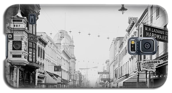 King Street In Charleston South Carolina Circa 1910 Galaxy S5 Case