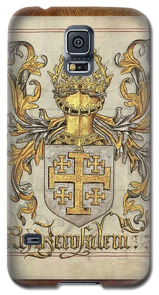 Kingdom Of Jerusalem Medieval Coat Of Arms  Galaxy S5 Case