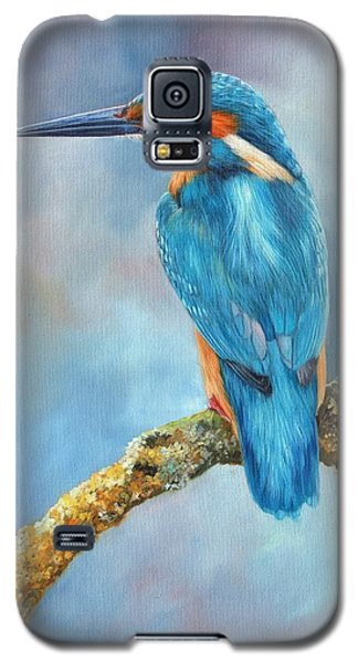Kingfisher Galaxy S5 Case by David Stribbling