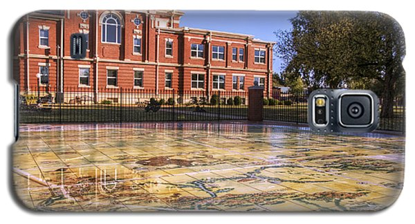 Kiowa County Courthouse With Mural - Hobart - Oklahoma Galaxy S5 Case