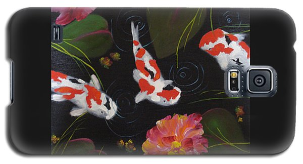 Kippycash Koi Galaxy S5 Case by Judith Rhue