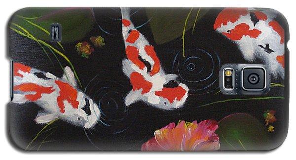 Kippycash Koi Galaxy S5 Case by Judith Rhue