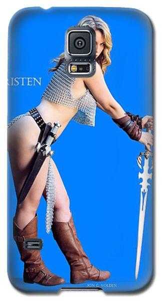 Kirsten Vgirl Pinup Galaxy S5 Case