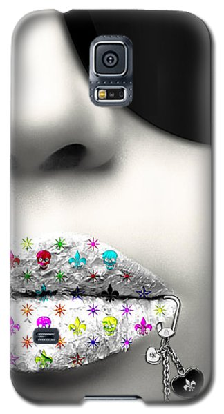 Kiss Me Silver Galaxy S5 Case