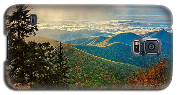 Kiss Of Sunshine - Blue Ridge Mountains I Galaxy S5 Case