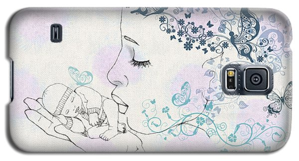 Kiss To A New Born Galaxy S5 Case by Barbara Orenya