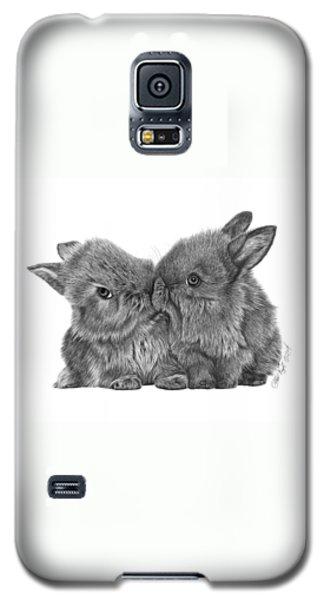 Kissing Bunnies - 035 Galaxy S5 Case