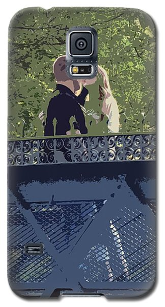 Kissing On A Bridge Galaxy S5 Case