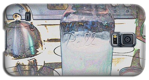Galaxy S5 Case featuring the digital art Kitchen Life by Aliceann Carlton