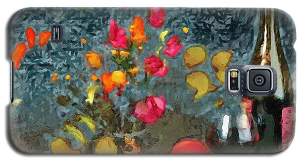 Kitchen - Peaches And Wine Painting  Galaxy S5 Case