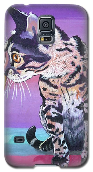 Galaxy S5 Case featuring the painting Kitten Image by Phyllis Kaltenbach