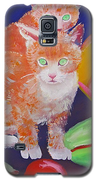 kittens With A Ball of Wool Galaxy S5 Case