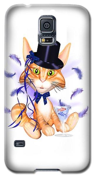 Kitticat Party Design Galaxy S5 Case by Renate Janssen