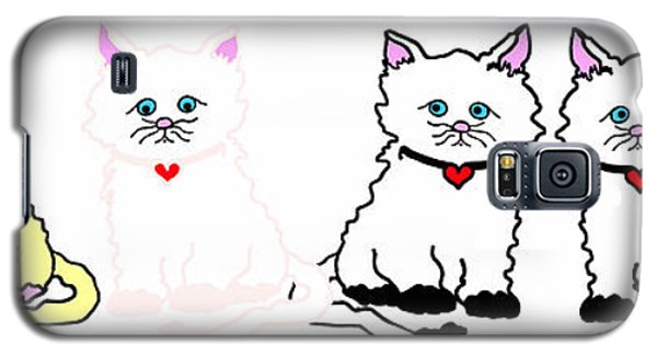 Kitties In A Row Galaxy S5 Case