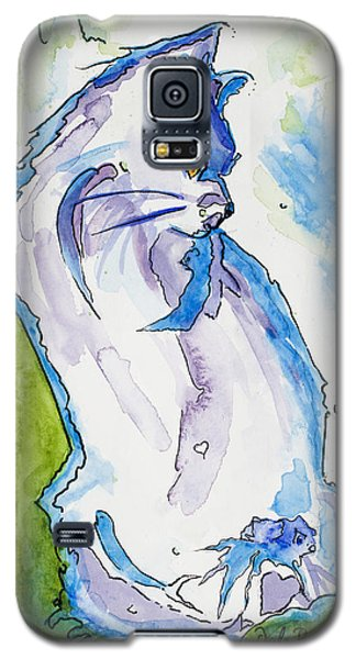 Kitty On Alert Galaxy S5 Case