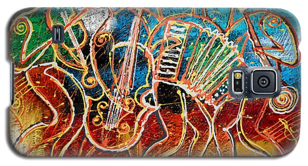 Klezmer Music Band Galaxy S5 Case