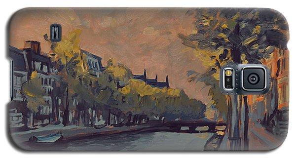 Kloveniersburgwal Amsterdam In Sunset Light Galaxy S5 Case