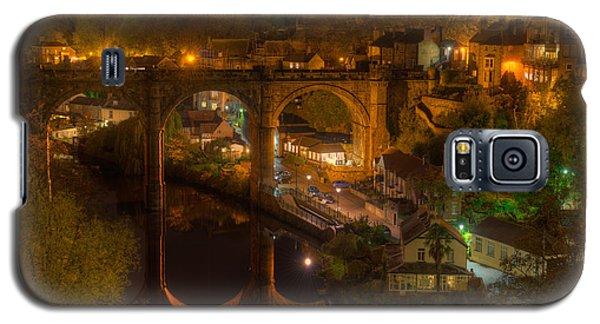 Knaresbrough Viaduct At Night Reflection Galaxy S5 Case