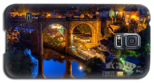 Knaresbrough Viaduct Night Reflection Galaxy S5 Case