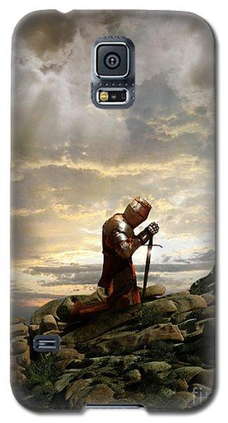 Kneeling Knight Galaxy S5 Case