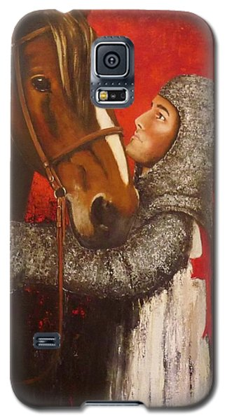 Knight And Horse Galaxy S5 Case