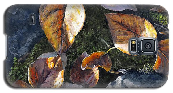 Knik River Autumn Leaves Galaxy S5 Case