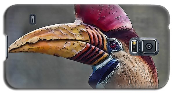 Knobbed Hornbill Galaxy S5 Case