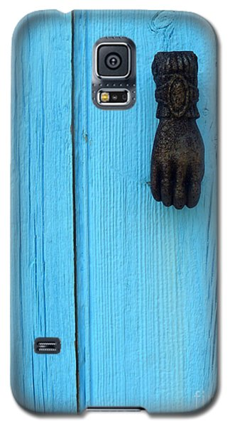 Galaxy S5 Case featuring the photograph Knock Knock by Robert Riordan