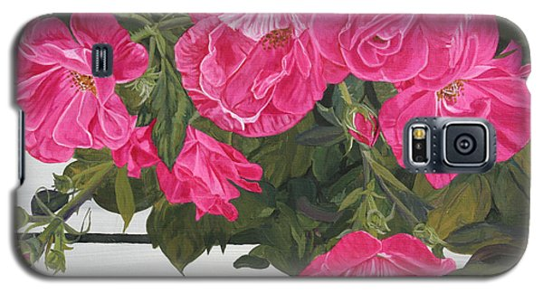 Knock Out Roses Galaxy S5 Case