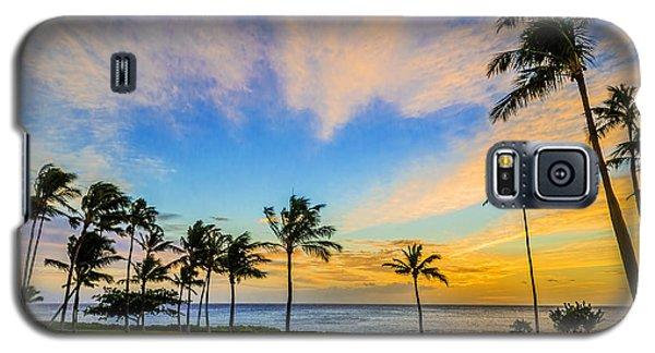 Galaxy S5 Case featuring the photograph Ko Olina Cloudy Sunset by Aloha Art
