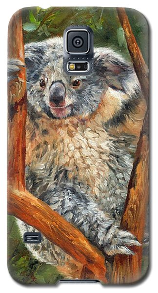 Koala Galaxy S5 Case - Koala by David Stribbling