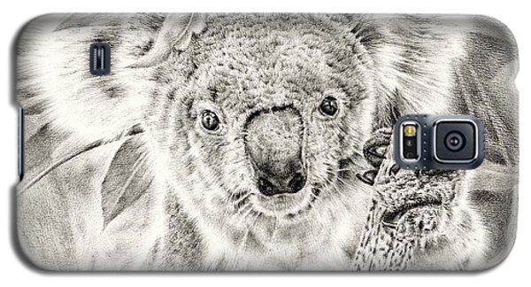Koala Garage Girl Galaxy S5 Case