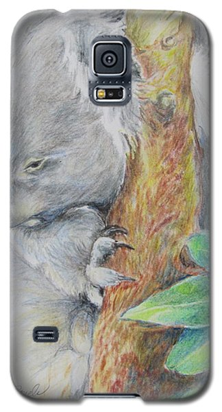 Koala Nap Time Galaxy S5 Case