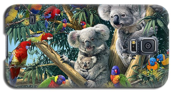 Koala Galaxy S5 Case - Koala Outback by Steve Read