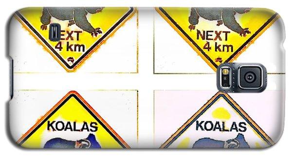 Koalas Road Sign Pop Art Galaxy S5 Case