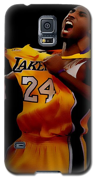Kobe Bryant Sweet Victory Galaxy S5 Case by Brian Reaves